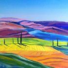 Toscana II - olej na płótnie 50 x 60